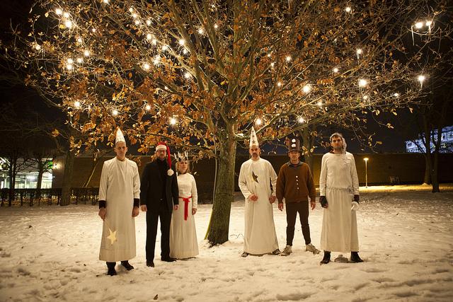 Noel için Bir Müzik ve Altı Davulcu