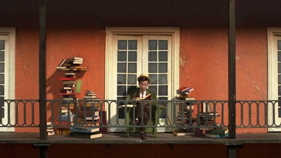Morris Lessmore ve Uçan Kitaplar